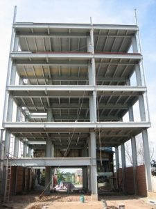 Nhà khung thép nhiều tầng