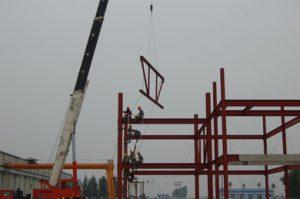 Lắp dựng nhà khung thép